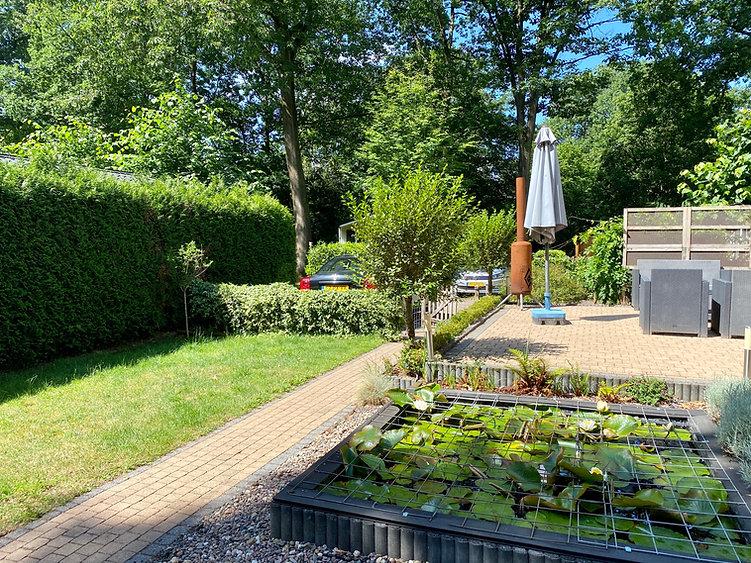 De tuin van Vakantie in Wageningen.JPEG