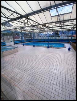 Verwarmd zwembad park