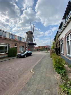 De molen met Harnjesweg