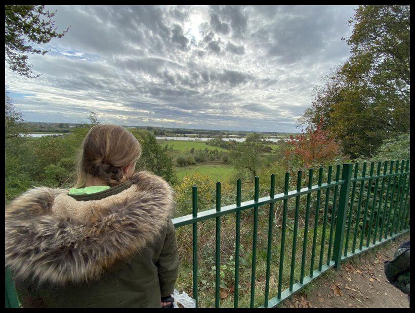 Uitzicht Arboretum Nederrijn
