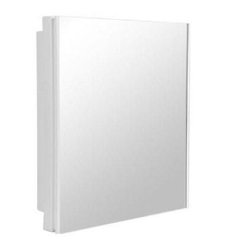 Armario Plastico para Banheiro A41 Sobrepor Branco Astra 35,5 x 30cm