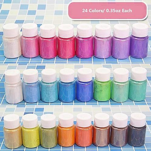 24 Color Mica Powder