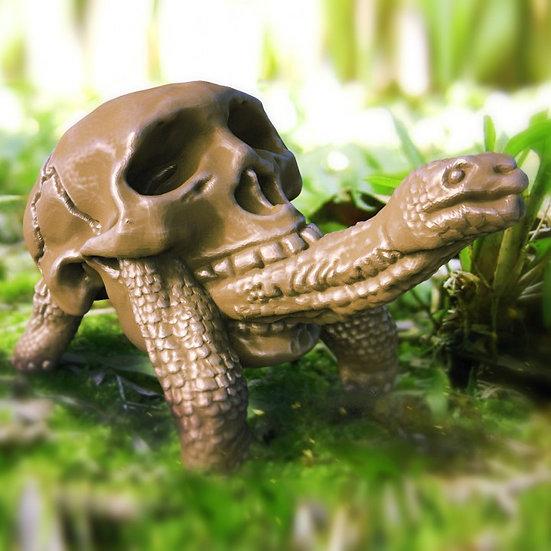 SkullToise Sculpture
