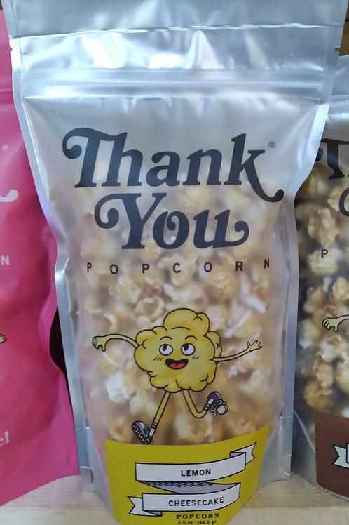 Thank You Popcorn Lemon Cheesecake