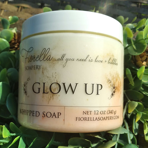 Glow Up Whipped Soap