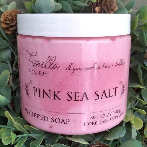 Fiorella Pink Sea Salt Whipped Soap