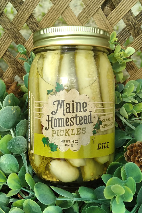 Maine Homestead Dill Pickles
