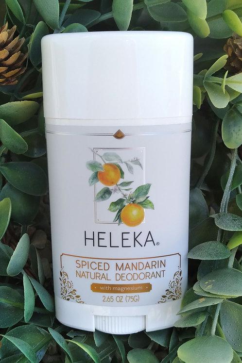 Heleka Spiced Mandarin Natural Deodorant