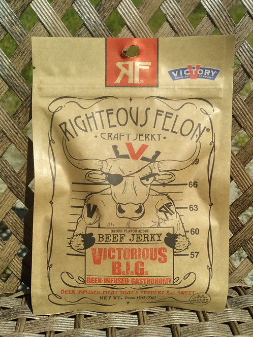 Victorious B.I.G. Beef Jerky