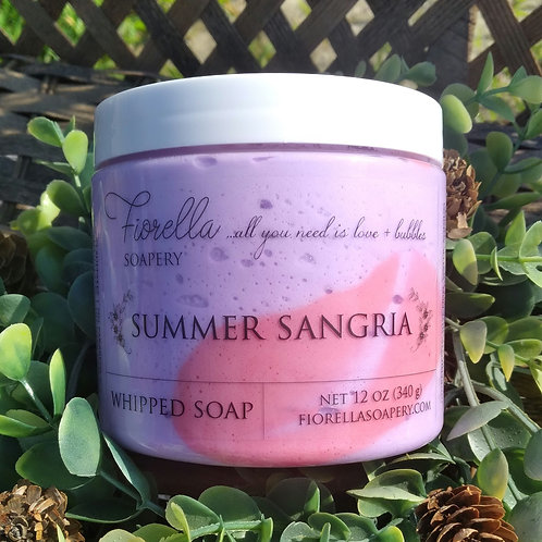 Summer Sangria Whipped Soap