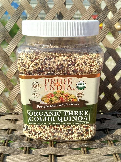 Three Color Quinoa