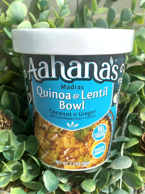 Aahana's Quinoa and Lentil Bowl