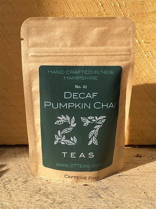 Decaf Pumpkin Chai