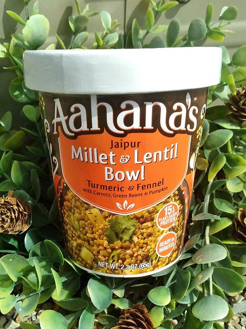 Aahana's Millet and Lentil Bowl