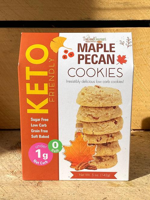 KETO Maple Pecan Cookies