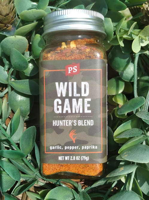 Wild Game Seasoning