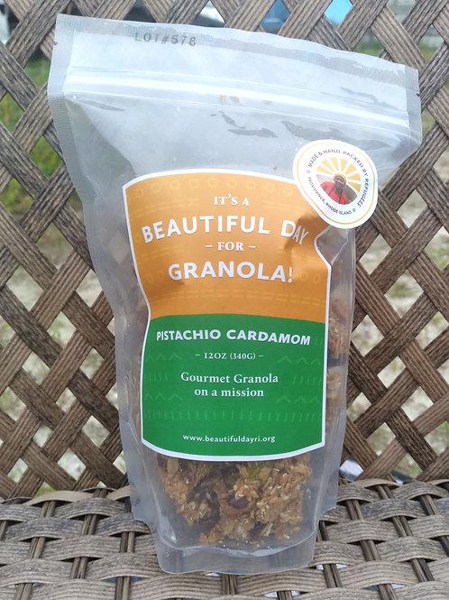 Pistachio Cardamom Granola