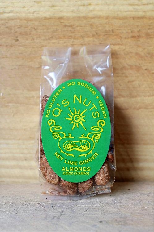 Key Lime Ginger Almonds