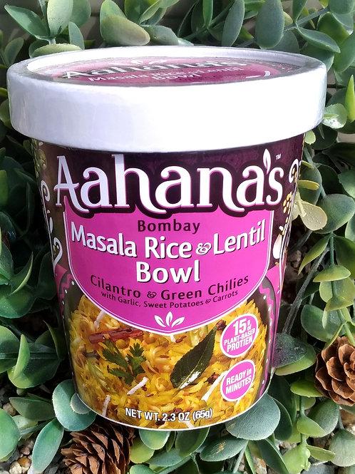 Aahana's Masala Rice and Lentil Bowl