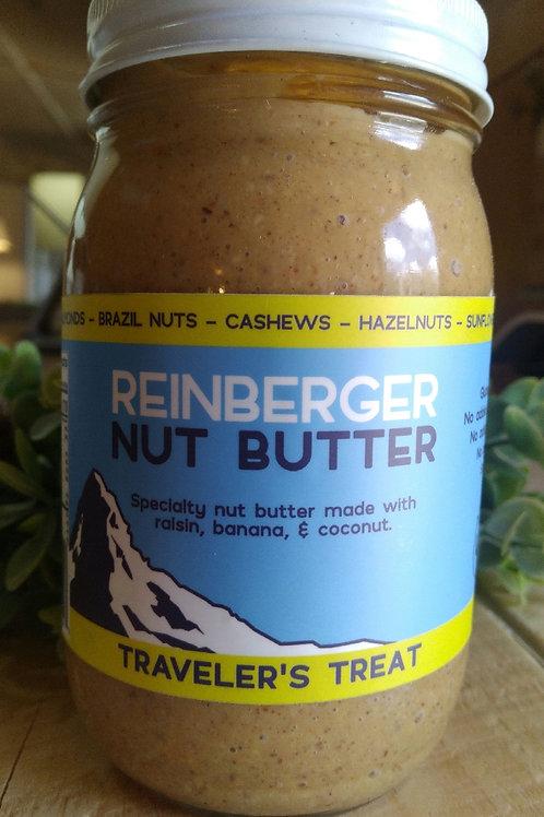Traveler's Treat Nut Butter