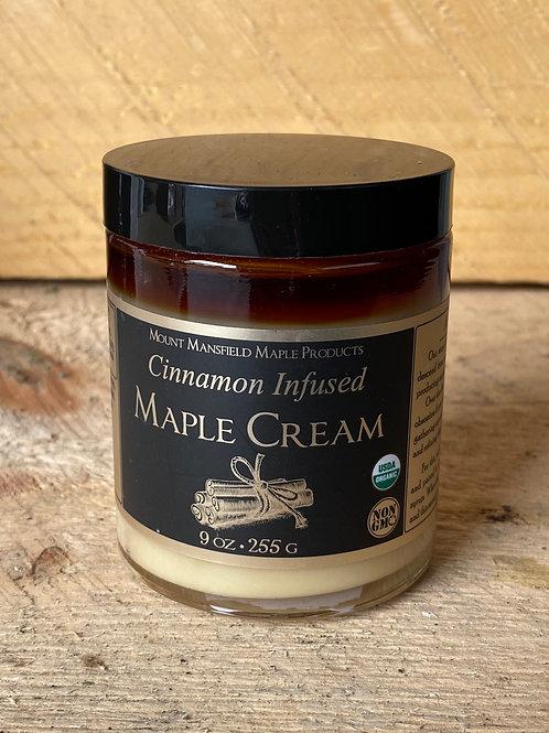 Cinnamon Infused Maple Cream