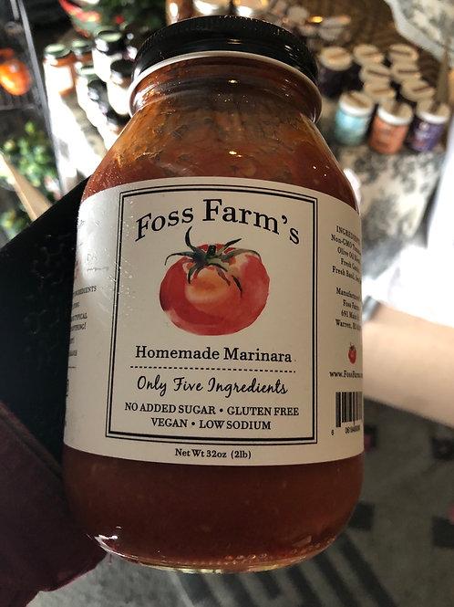 Foss Farm's Homemade Marinara