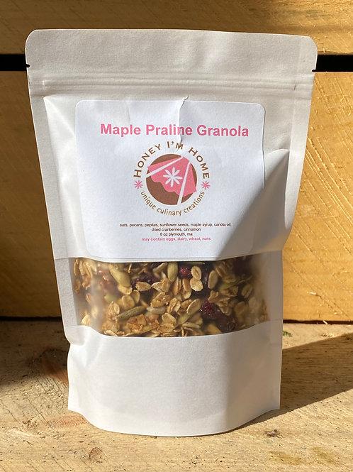 Maple Praline Granola