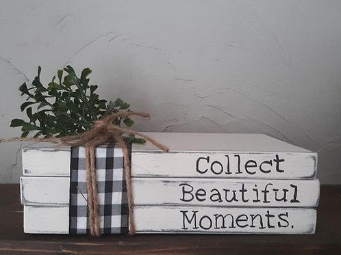 Book Stack Decor