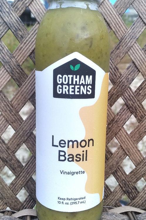 Gotham Greens Lemon Basil vinaigrette