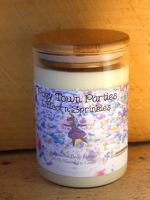 Soy Candle - Unicorn Sprinkles