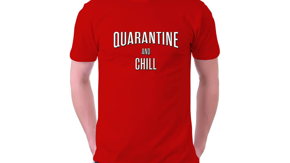 Quarantine and Chill T-shirt Online In Navi Mumbai