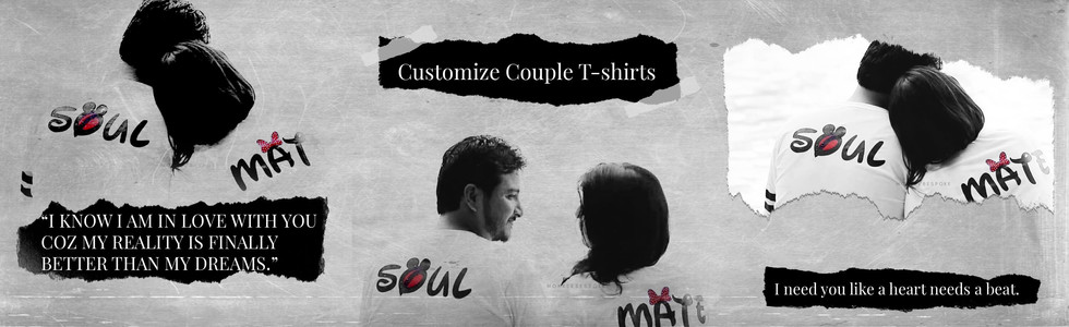 Couple T-shirts In Navi Mumbai