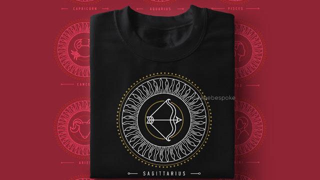 Zodiac Printed T-shirts in Navi Mumbai