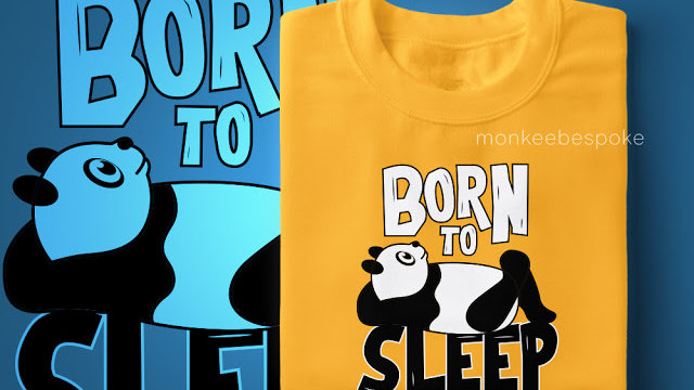 Born To Sleep Printed T-shirts in Navi Mumbai