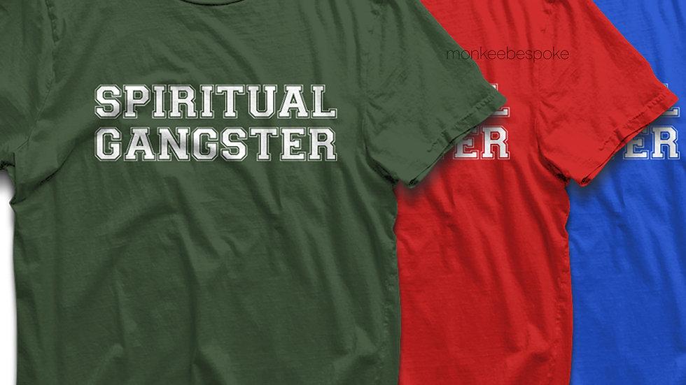 Spiritual Gangster Graphic Printed T-shirts in Navi Mumbai