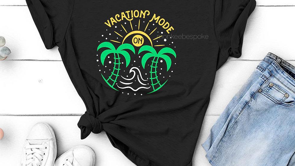 Vacation Mode On Printed Travel T-shirts in Navi Mumbai