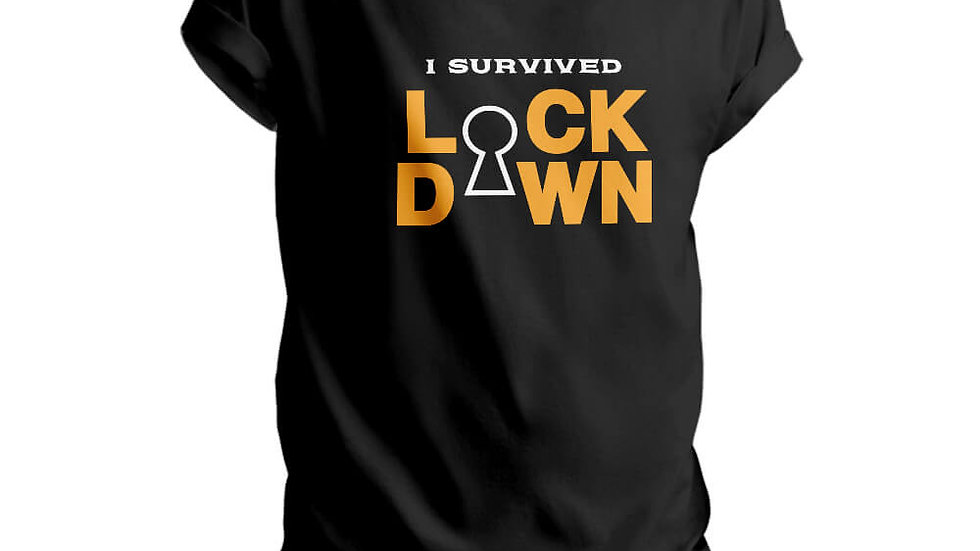 I Survived Lockdown Printed T-shirts in Navi Mumbai