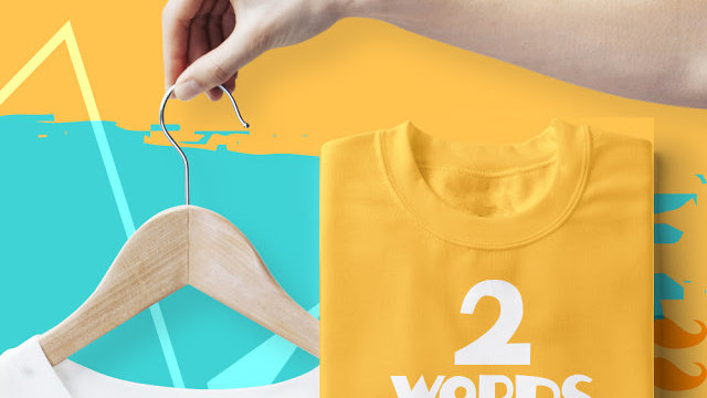 Two Words One Finger Graphic Printed T-shirts in Navi Mumbai