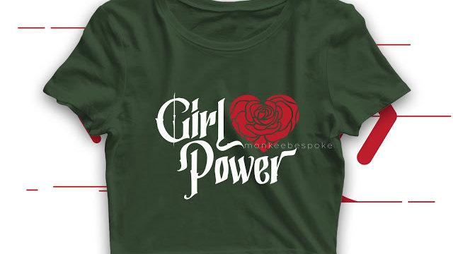 Girl Power Crop Top In Navi Mumbai