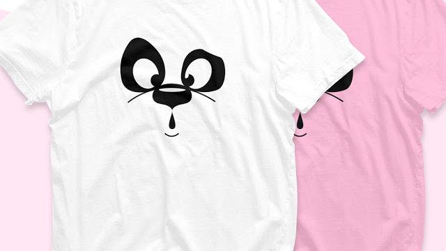 Panda Printed T-shirt in Navi Mumbai
