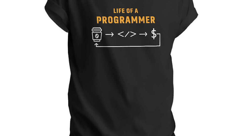 Life of A Programmer T-shirts in Navi Mumbai