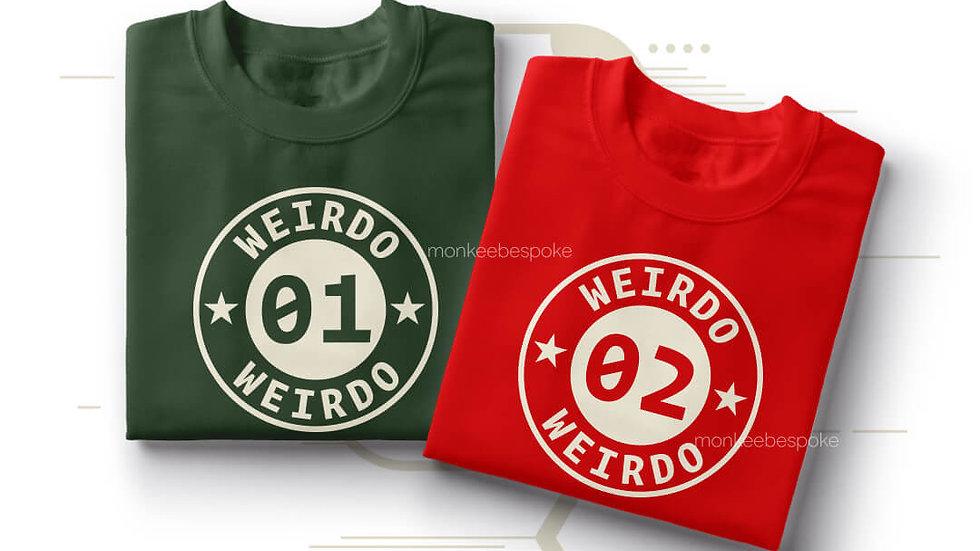 Weirdo Best Friends T-shirts in Navi Mumbai