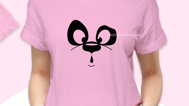 Panda Printed T-shirt in Nerul