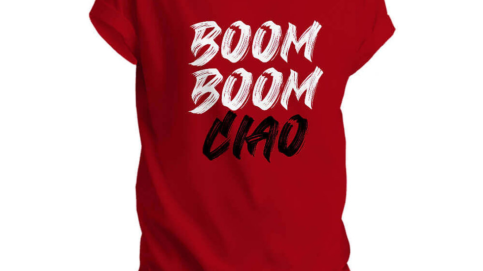 Boom Boom Ciao Printed T-shirts from Money Heist