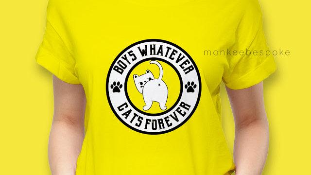 Boys Whatever Cats Forever Graphic Tshirts In Navi Mumbai