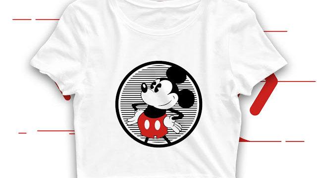 Mickey Mouse Crop Top in Navi Mumbai