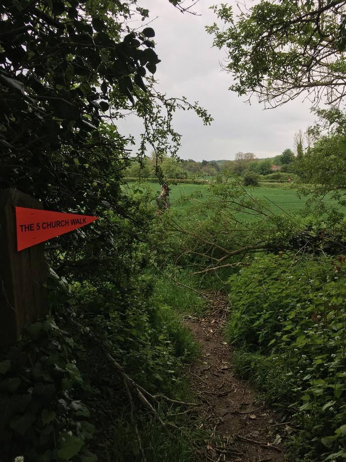 Cancelled Five Church Walk 8th May 2020
