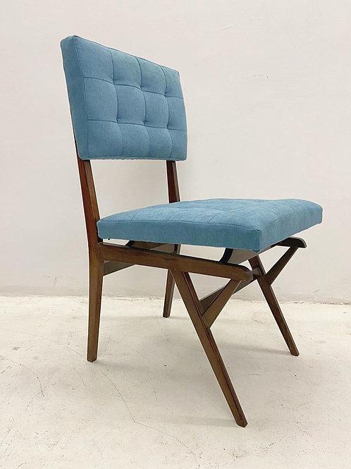 Conjunto 8 cadeiras em jacarandá