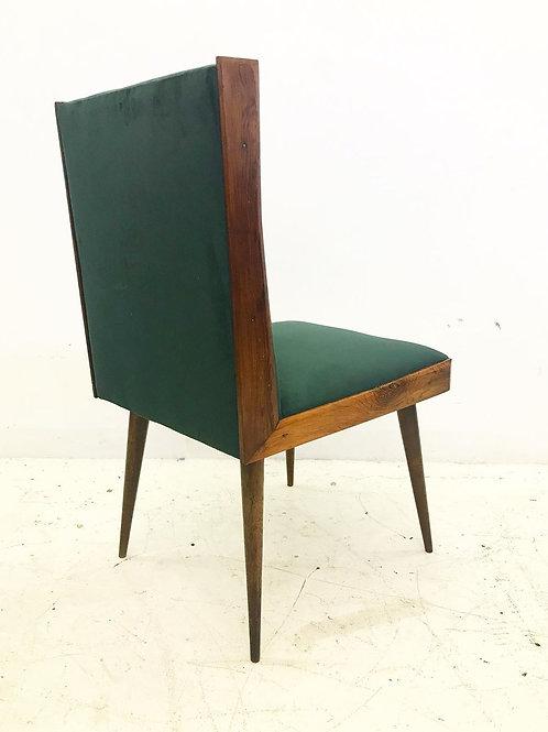 Conjunto 6 cadeiras em jacarandá