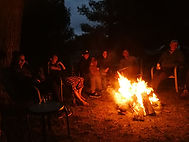 firepit gathering